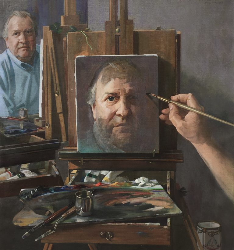 Artifact Analysis: Self Portrait by Auseklis Ozols, 2003