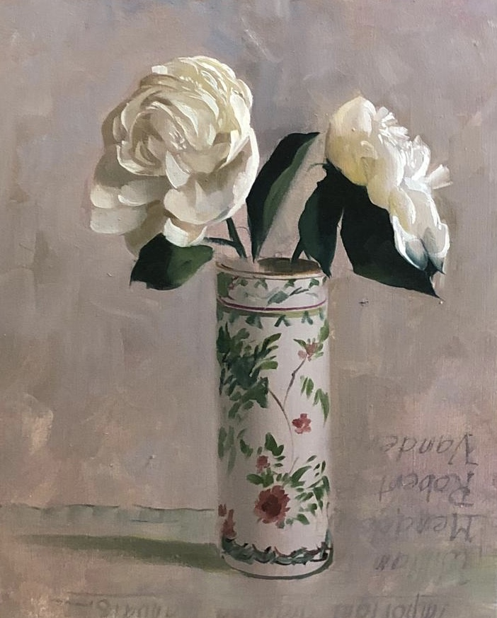 "Object Lesson: Winter Whites in ""Peonies,"" by Auseklis Ozols"
