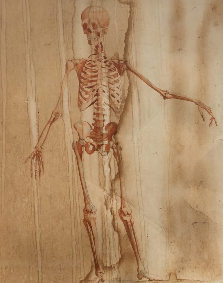 Drawing the Body and Spirit: Happy Halloween from The Ozols Collection
